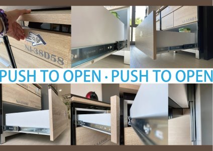 PUSH TO OPEN SLIDE